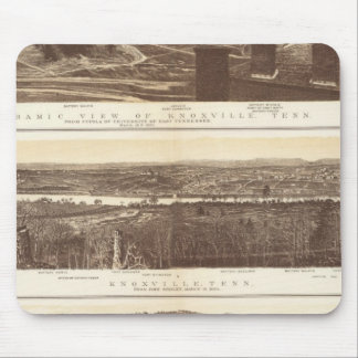 Knoxville, Chattanooga Mouse Pad