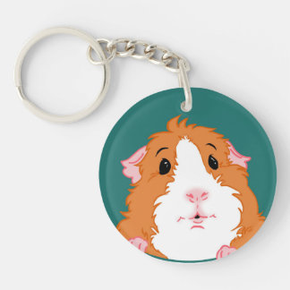 Knoxville Guinea Pig Rescue Keychain