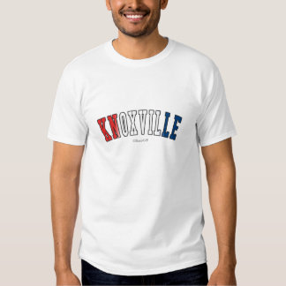 Knoxville in Tennessee state flag colors Tee Shirt