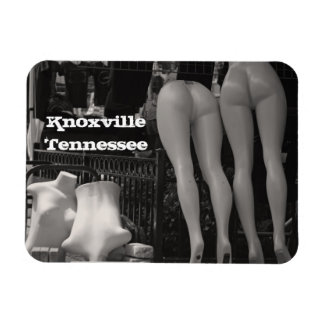 Knoxville Mannequins Rectangular Photo Magnet