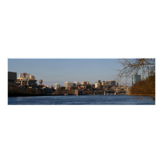 Knoxville River Panoramic Poster