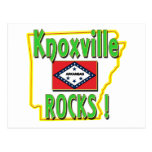 Knoxville Rocks ! (green) Postcard