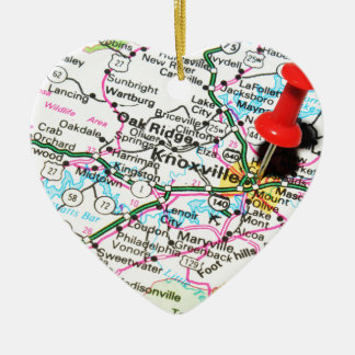 Knoxville, Tennessee Christmas Ornament