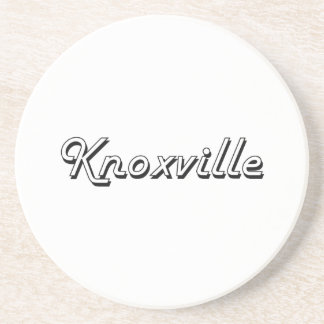 Knoxville Tennessee Classic Retro Design Drink Coasters