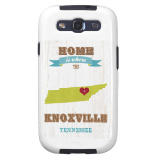 Knoxville, Tennessee Map – Home Is Where Galaxy SIII Cover