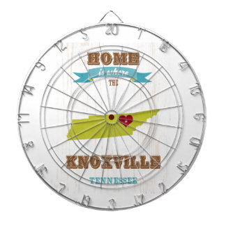 Knoxville Tennessee Map – Home Is Where Dartboards