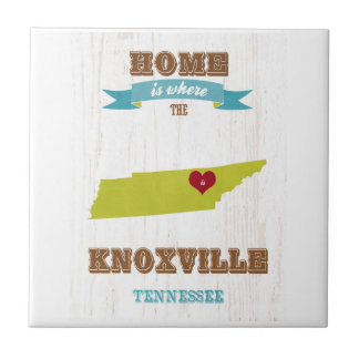 Knoxville Tennessee Map – Home Is Where Tiles