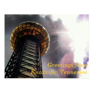 Knoxville Tennessee Post Card