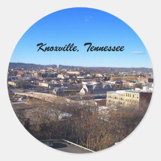 Knoxville, Tennessee Round Sticker