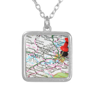 Knoxville, Tennessee Silver Plated Necklace