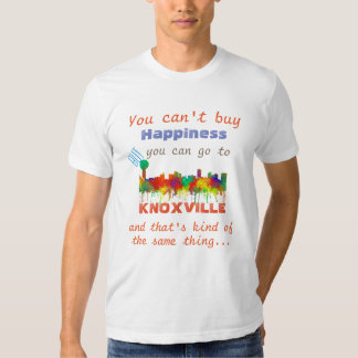 KNOXVILLE, TENNESSEE SKYLINE - TSHIRT