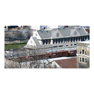 Knoxville Tennessee Train Station Personalized Photo Card