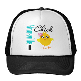 Knoxville TN Chick Trucker Hat