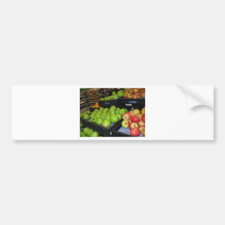 Knoxville zoo 031.JPG-apples fruit for decor Bumper Sticker