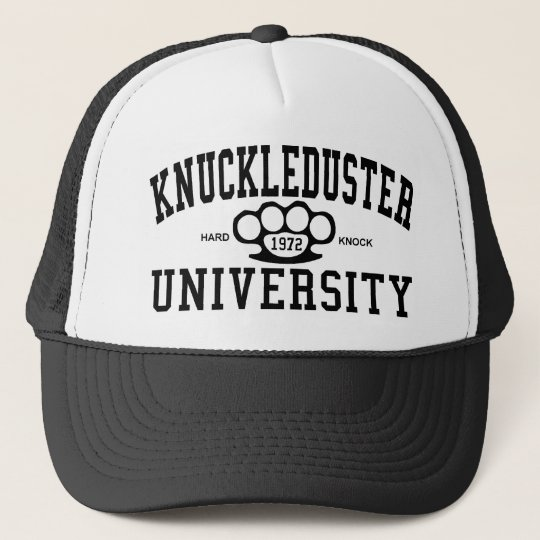 KnuckleDuster University Cap