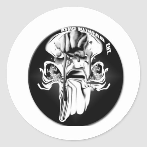 KNUCKLEHEAD APPAREL ROUND STICKERS
