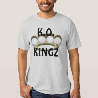 knuckles, K.O., KINGZ Tees