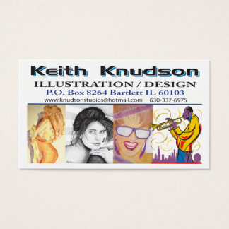 Knudson-Business-Card Business Card