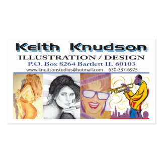 Knudson-Business-Card Pack Of Standard Business Cards