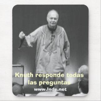 Knuth responde todas las preguntas mouse pad