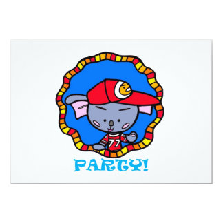 Ko-Ko/PARTY! 13 Cm X 18 Cm Invitation Card