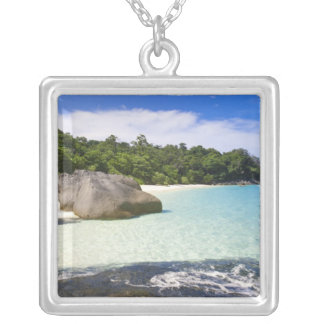 Ko Miang Island, Simil Islands on Andam Sea, Silver Plated Necklace