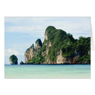Ko Phi Phi Island on Andaman Sea, Krabi Card
