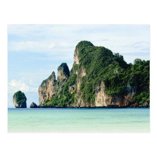 Ko Phi Phi Island on Andaman Sea Krabi Post Card