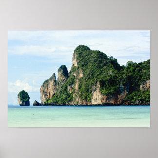 Ko Phi Phi Island on Andaman Sea, Krabi Poster
