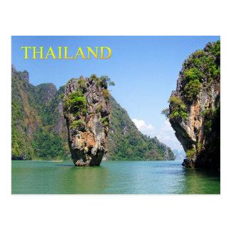 Ko Tapu Khao Phing Kan Thailand Post Card