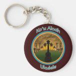 Ko`u Aloah Ukulele Keychain