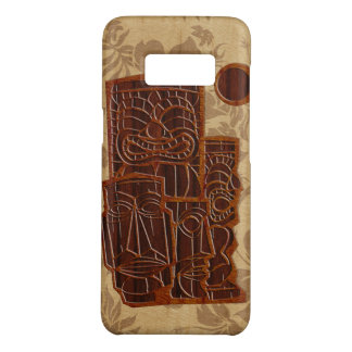 Koa Wood Tiki Sun Faux Wood Surfboard Case-Mate Samsung Galaxy S8 Case