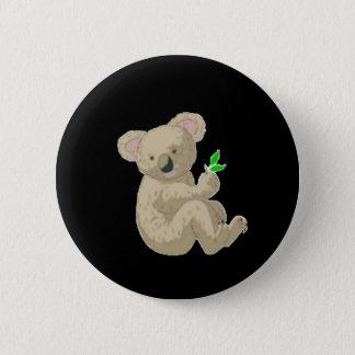 Koala 6 Cm Round Badge