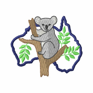 Koala and Australia Outline