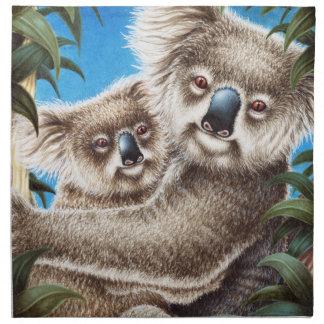 Koala and Baby American MoJo Napkin