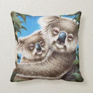Koala and Baby American MoJo Pillow