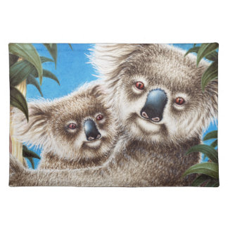 Koala and Baby American MoJo Placemat