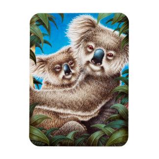 Koala and Baby Premium Magnet