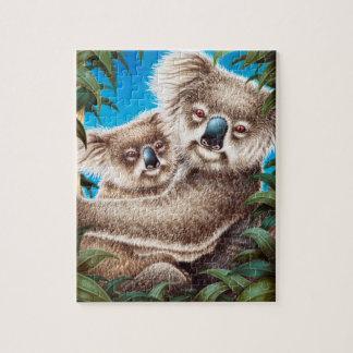 Koala and Baby Puzzle