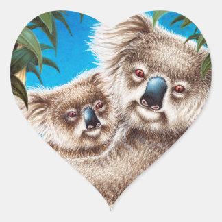 Koala and Baby Sticker