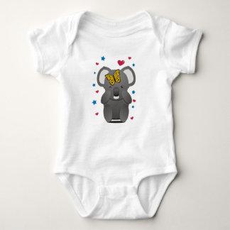 Koala And Butterfly Baby Bodysuit