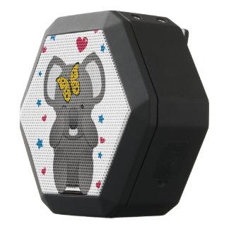 Koala And Butterfly Black Bluetooth Speaker