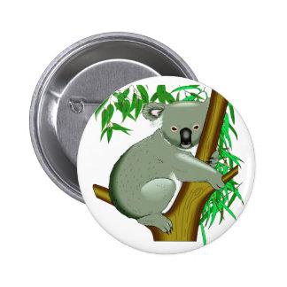 Koala - Australian Tree Living Marsupial Buttons