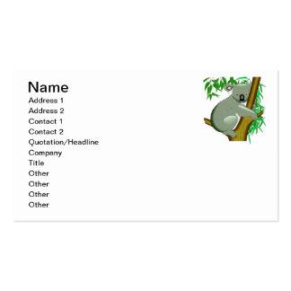 Koala - Australian Tree Living Marsupial Pack Of Standard Business Cards