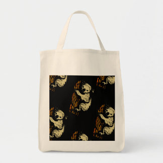 Koala Bear Art Design Grocery Bag