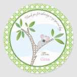 Koala Bear | Baby Shower Favour Sticker