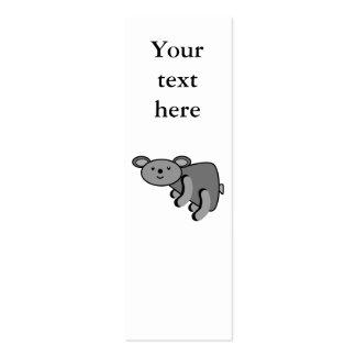 Koala bear business card template