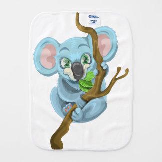 Koala Bear Cartoon Burp Cloths