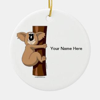 Koala Bear Christmas Ornament