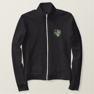 Koala Bear Embroidered Jacket
